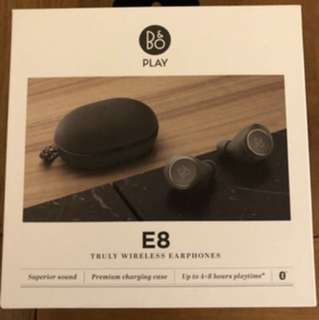 B&O Beoplay E8 Wireless Headphone (Charcoal Grey)
