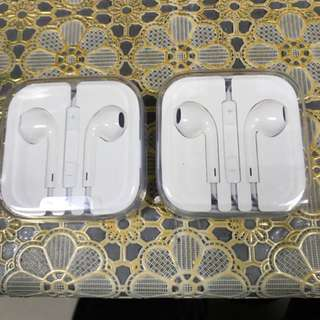 iPhone ear pieces/ ear phone / ear pods earpods