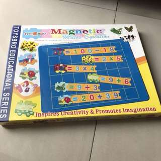 Toysbro Magnetic Math Equation