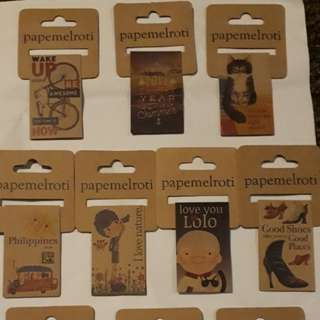 Papemelroti Magnetic Bookmarks