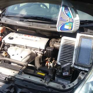 Works Air Cleaner Toyota Wish
