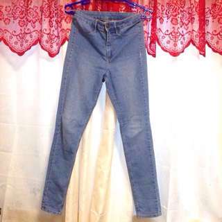 H&M Highwaist Denim Pants