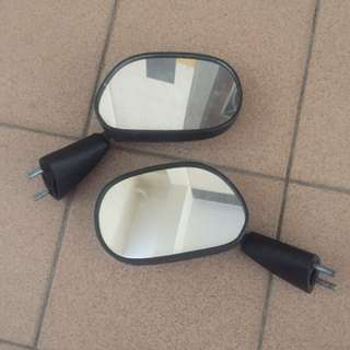 Kawasaki KR original side mirror