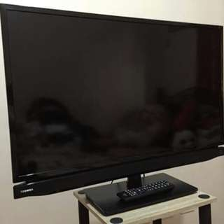"TOSHIBA LED 32"" TV"