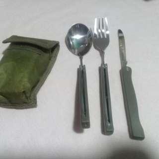 Spoon fork knife