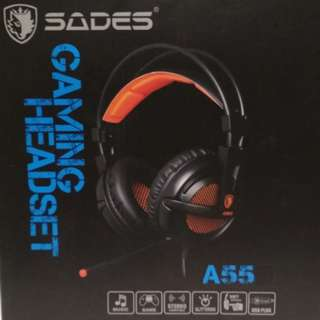 SADES A55 Lightweight Stereo Gaming Headset