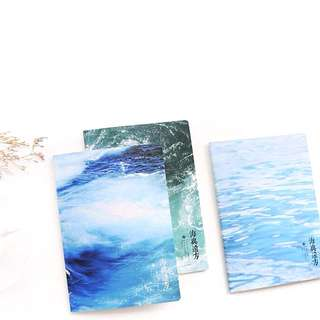 [SEA] B5 Notebook /Lined Note Pad/ Soft Cover Diary/ Clean/ Minimalistic/ Sleek/ Trendy