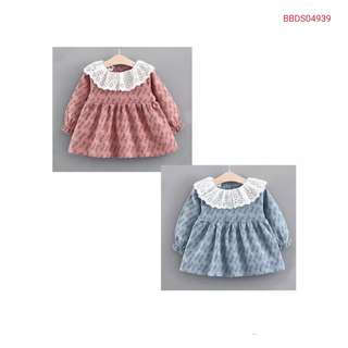 Sweet Lace Coller Long Sleeve (wechat: Strawmint)