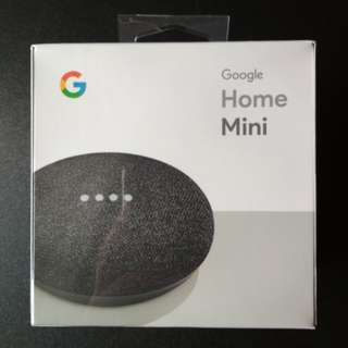 Google Home Mini (Charcoal) *Brand New*