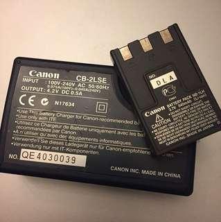 Canon camera battery