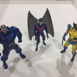 X-men die cast metal set-of-3
