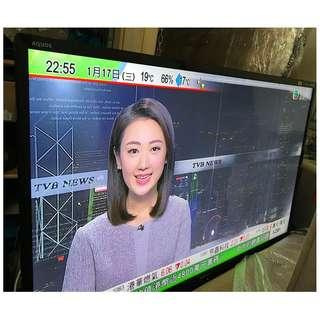 "SHARP 60"" FullHD led 電視, iDTV / 內置高清, 9成新"