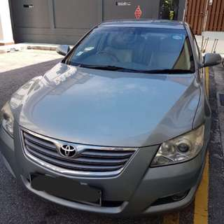 Toyota Camry 2.0A For Personal Rental