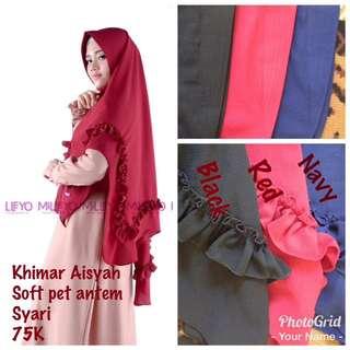 Khimar syari / jilbab syri