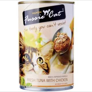 Fussie 400gm - $30.00 per ctn of 24 cans