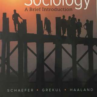 Intro to Sociology Textbook (SOC105)