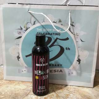 THE BODY SHOP - black musk lotion