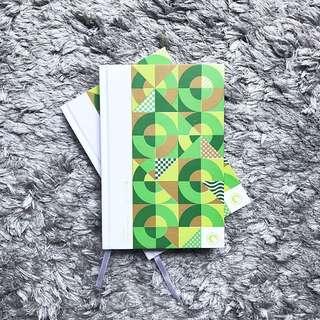 Moonleaf 2018 Planner - Green