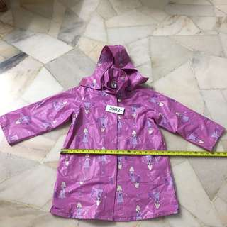 Pumpkin girl raincoat size M non3902