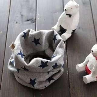韓國可愛寶寶🌟🌟秋冬純棉保暖套頭/脖圍