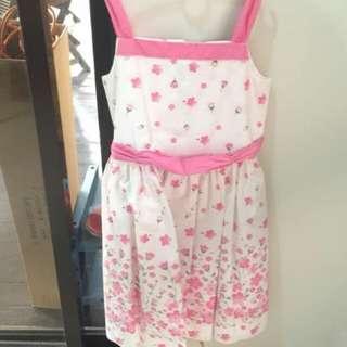 ERIWINK Kids Sleeveless Flowery Dress