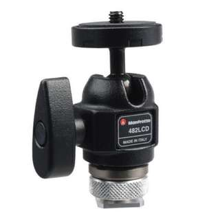 Manfrotto 482LCD Mini Ball Head (offer)