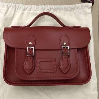 Cambridge mini bag。全新未用過。