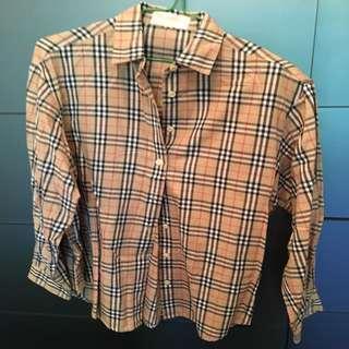 Burberrys classic 恤衫