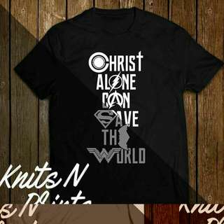 Christ alone can save the world