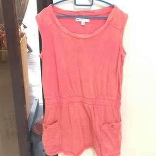 MARK & SPENCER Sleeveless Dress - Bright Red