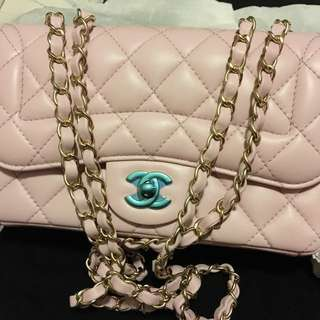 Chanel light pink 23 cm