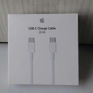 Apple USB C 2m cable