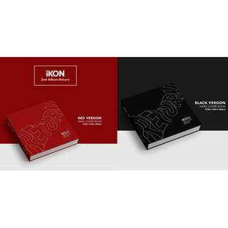 [PREORDER] 아이콘 (iKON) - 2TH ALBUM / Return