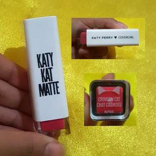 Katy Kat matte lipstick