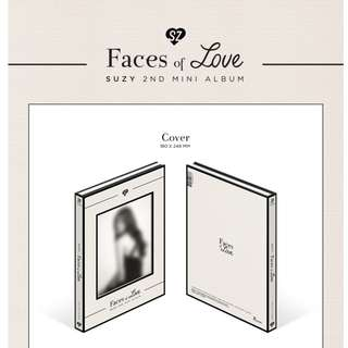 [PREORDER] SUZY (수지) - FACES OF LOVE _ 2ND MINI ALBUM