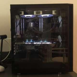 Custom 4K monster: 1080ti ftw3, 64gb ram, Samsung 960 evo, intel 6800k