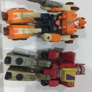 Transformers action masters set-of-2