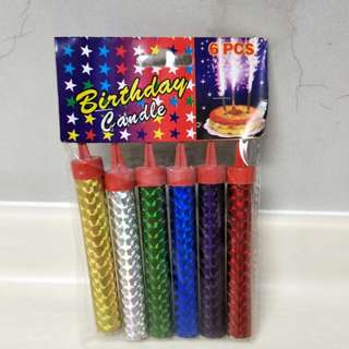 Sparkles Birthday/Party Candles