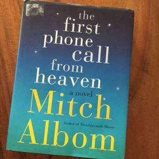 The first call from Heaven - Mitch Albom