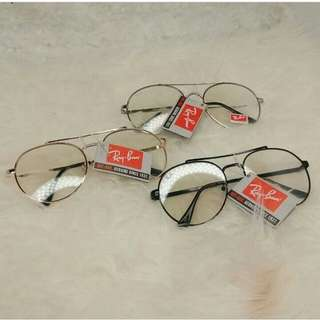 Rayban clear glasses