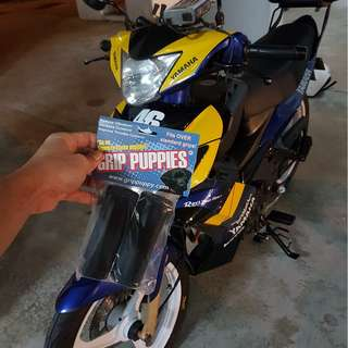 YAMAHA SPARK 135 Authentic Grip Puppies (From UK)  INSTALLED ON 17/1/18