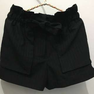 Color Box Black Pants