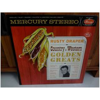 Rusty Draper Country & Western Golden Hits Vinyl LP Record