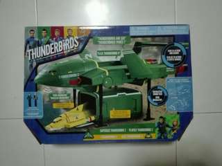 Supersize 40cm Long Thunderbird 4 Are Go with Sounds and Thunderbird 2 TRU