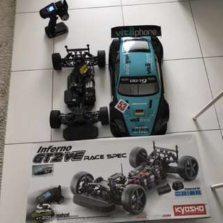 Kyosho Inferno GT2 VE Race Spec EP 1:8 scale RC Car ( NO TRADES)