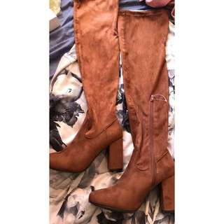 WILDFIRE Over the Knee Boots
