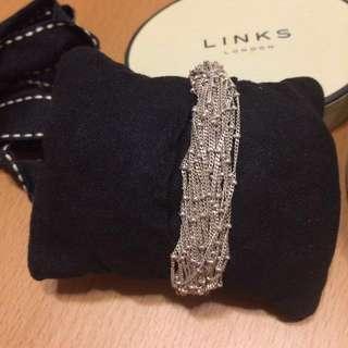 95% new real Links of London bracelet