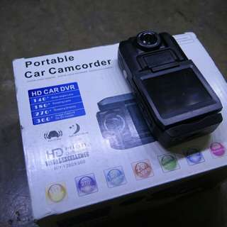 Car camcorder with box