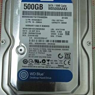 Western Digital Desktop pc 500GB Harddisk
