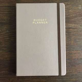 Agenzio Budget book by Paperchase